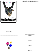 1990's Party Invitation Template