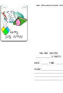 Honor Roll Party Invitation Template