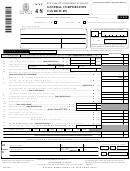 Form Nyc 4s - General Corporation Tax Return - 1999