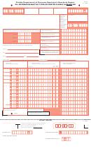 Form Uct-6 - Florida Department Of Revenue Employer's Quarterly Report