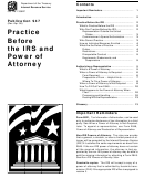 Form 8821/2848 - Tax Information Authorization - Power Of Attorney And Declaration Of Representative