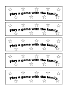 Play A Game Gift Coupon