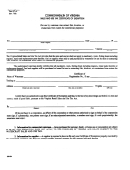 Form St-16 - Sales And Use Tax Certificate Of Exemption - Commonwealth Of Virginia