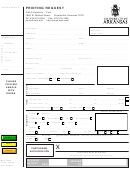 Printing Request Form