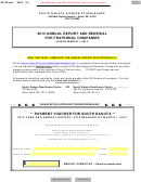 Sd Eform 2260 - Annual Report And Renewal For Fraternal Companies Voucher - 2013