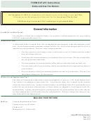 Form Sut-451 Instructions - Sales And Use Tax Return