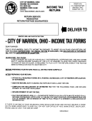 Form Fr - Income Tax Return Specific Instructions