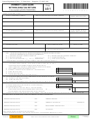 Form Lg-1 - Vermont Land Gains Withholding Tax Return