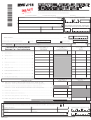 Form Nyc-115 Draft - Unincorporated Business Tax Report Of Change In Taxable Income Made By Internal Revenue Service And/or New York State Department Of Taxation And Finance - 2015