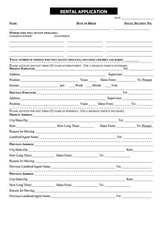page_1_thumb_big  Page Rental Application Form on california page 2, blank credit, free printable,