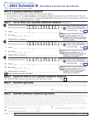 Form Il-1363 - Schedule B - Qualified Additional Residents - 2004