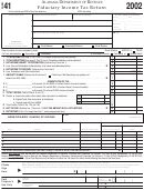 Form 41 - Fiduciary Income Tax Return - 2002
