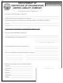Form 280 - Restatement Of Certificate Of Organization For A Limited Liability Company - Idaho Secretary Of State