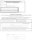 Form C&s 521 - Resignation Of Resident Agent - 2000