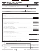 Form 541-qft - California Income Tax Return For Qualified Funeral Trusts - 2007