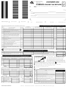 State Of Washington Combined Excise Tax Return Form - 2002