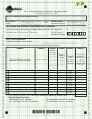 Montana Form Telc - Temporary Emergency Lodging Credit - 2012