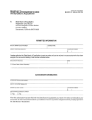 Form Boe-91 - Permittee Authorization To Send Tax Returns To Accountant - California Board Of Equalization