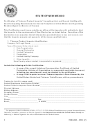 Form Nmago - 2016 - Certification Of Tobacco Product Importer Accepting Joint And Several Liability With Non-participating Manufacturer For Escrow Compliance In New Mexico And Appointing Resident Agent For Service Of Process