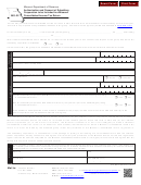 Form Mo-22 - Authorization And Consent Of Subsidiary Corporation To Be Included In A Missouri Consolidated Income Tax Return - 2013