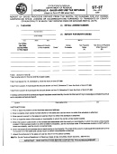 Form St-3t - Schedule A - Sales And Use Tax Returns - South Carolina Department Of Revenue