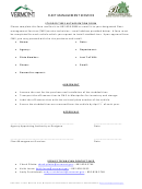 Studded Tires Authorization Form - Fleet Management Services