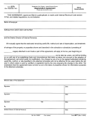 Form 2271 - Depreciation Agreement