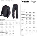 Triumph Mens Clothing Size Chart