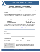 Rain Barrel Rebate Application - City Of Olympia Water Conservation