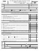 Form 1066 - U.s. Real Estate Mortgage Investment Conduit (remic) Income Tax Return - 1999