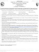 Form 10-550 - Instructions Commercial Use Authorization Application - National Park Service