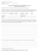 Guide And Cover Sheet For The Submission Of Plans - Diary Processing Facility - Ohio Department Of Agriculture