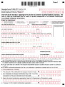 Form It-qee-tp1 - Qualified Education Expense Credit Preapproval Form