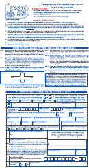 Pennsylvania Voter Registration Mail Application