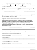 International Students Naval Postgraduate School Bus Program Application Form