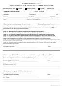 International Students Naval Postgraduate School Bus Program Application Form