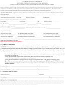 Public Transportation Benefit Program Application - United States Air Force Outside The National Capital Region