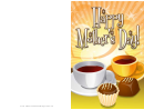 Coffee And Chocolate Mothers Day Card