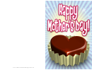 Chocolate Candy Mothers Day Card