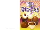 Chocolate Truffles Mothers Day Card