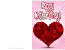 Heart And Gears Mothers Day Card