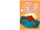 Blue Box Mothers Day Card