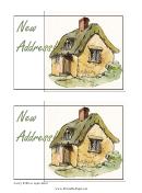 New Address Postcard Template