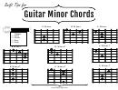 Guitar Minor Chords
