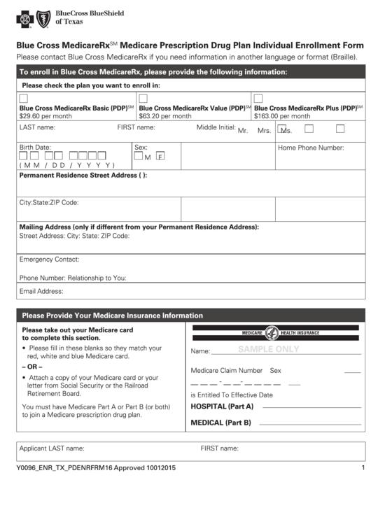 medicare bank details forms