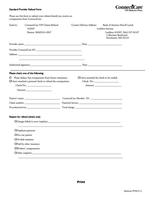 Top 7 Medicare Refund Form Templates free to download in PDF, Word ...