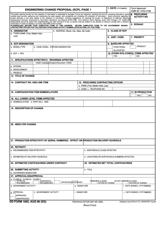 fillable dd form 1692