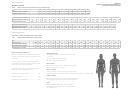 Men's/women's Sizing Instructions