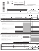 Form Nyc-115 -unincorporated Business Tax Report Of Change In Taxable Income Made By Internal Revenue Service- 2007