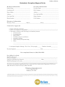 Form Frx004 - Formulary Exception Request Form